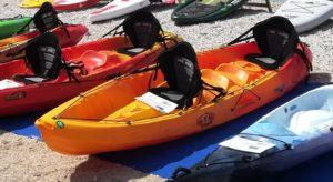 RTM OCEAN QUATRO (II. klasa) sit on top kajak + 2 VESLA + 2 SJEDALA